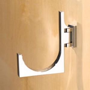 Motiv Decorative Bathroom Accessories Frame Pivoting Towel Hook Large Polished Chrome