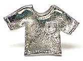 Michael Aram Nickel Shirt Cabinet Knob Ckm