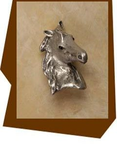 Anne at Home Beautiful Show Horse-Cabinet Knob