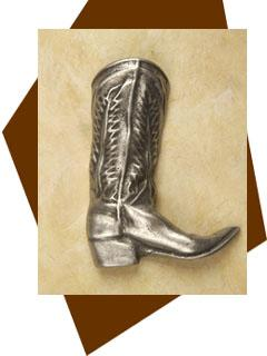 Anne at Home Cowboy Boot Cabinet Knob-Large/Right