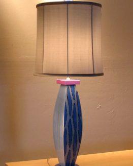 Susan Goldstick DecorativeTable Lamps - Blue Betty