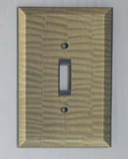 Susan Goldstick Decorative Switchplates Glass Switch Cover1 - Deep Opal