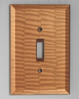 Susan Goldstick Decorative Switchplates Glass Switch Cover1 - Amber