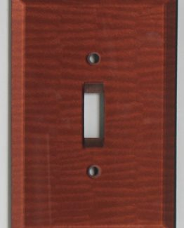 Susan Goldstick Decorative Switchplates Glass Switch Cover1 - Agate