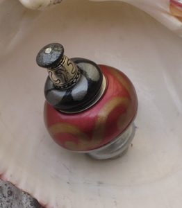 Susan Goldstick Ruby Nu Carnival Decorative Cabinet Knob