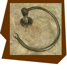 Anne at Home Chamberlain Towel Ring