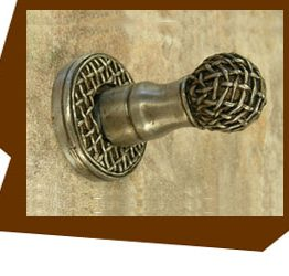 Anne at Home Chamberlain Robe or Towel  Hook