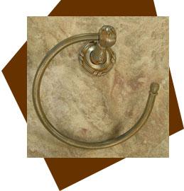 Anne at Home   Sonnet Towel Ring