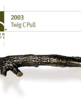 Modern Objects Designer Hardware Twig C Cabinet Pull