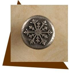 Anne at Home Alpine Snowflake Cabinet Knob