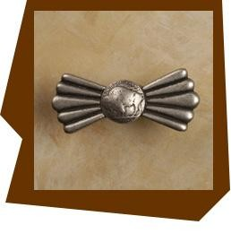 Anne at Home Buffalo Nickel  Cabinet Pull