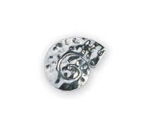 Michael Aram Hammered Collection Silver-Tone Hammered Spiral Knob