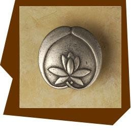 Anne Home Asian Lotus Flower Cabinet Knob Small