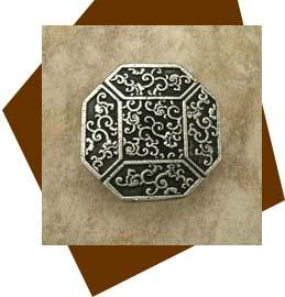 Anne At Home Cabinet Hardware Asian Octagonal Cabinet Knob
