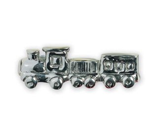 Michael Aram Transportation Series Polished Train Cabinet Pull