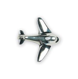 Michael Aram Transportation Series Polished Aeroplane Cabinet Knob