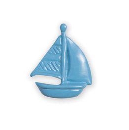 Michael Aram Transportation Series Blue Sailboat Cabinet Knob