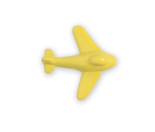 Michael Aram Transportation Series Yellow Aeroplane Cabinet Knob