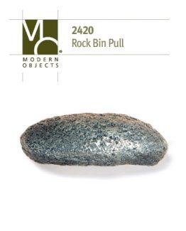 """Rock Bin Pull 4-1/4""""L x 2-1/4""""H, 2-3/8""""O/C"""