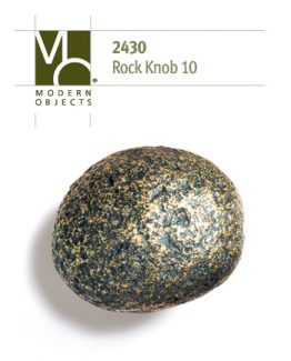 Modern Objects Designer Hardware Rock 10 Cabinet Knob