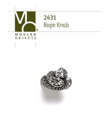 Modern ObjectsDesigner Hardware Rope Knot Cabinet Knob
