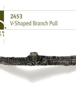Modern Objects Designer Hardware 'V' Shape Branch Cabinet Pull