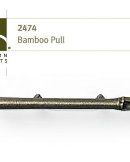 "Modern Objects Designer Hardware Bamboo Cabinet Pull 8"""