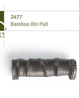 Modern Objects Designer Hardware Bamboo Cabinet Bin Pull