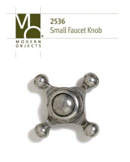 Modern ObjectsDesigner Hardware Small Faucet Cabinet Knob