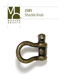 Modern Objects Designer Hardware Shackle Cabinet Knob