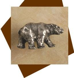 Anne At Home Bear Cabinet Knob - Right