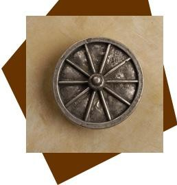 Anne At Home Wagon Wheel Cabinet Knob-Medium