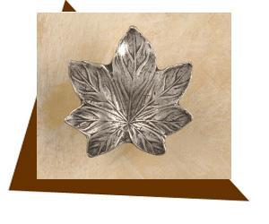 Anne At Home Maple Leaf Cabinet Knob - Large