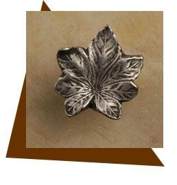 Anne At Home Maple Leaf Cabinet Knob - Small