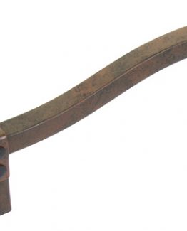 "Avante Hardware Iron Craft Pull, Stepped, 3 1/2"" C-C, Steel, Rusted Iron"