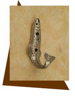 Anne At Home Fish Hook  Towel Hook