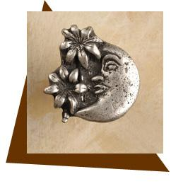 Anne At Home Moon & Palms Cabinet Knob