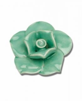 Atlas Homewares Une Collection Le Fleur Rose Knob - Large