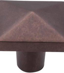 Top Knobs Aspen Collection Square Knob Mahogany Bronze