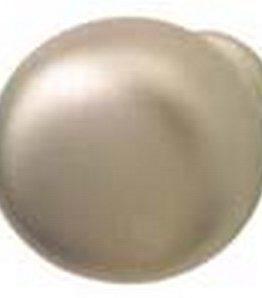 Hafele Cabinet Hardware, Knob, hollow, steel, matt nickel, 32 x 31mm