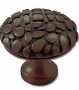Big Sky Hardware-Crocodile Round Cabinet Knob Oil Rubbed Bronze