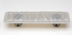 Sietto Glass Cabinet  Pull Glasier Blue Grey