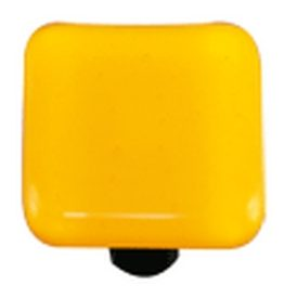Hot Knobs, Glass Cabinet Knob, Yellow