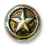 Waterwood Hardware  -Large Lone Star Cabinet Knob