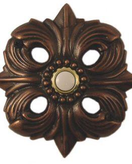 Waterwood Hardware Decorative Avalon Doorbell- Oil Rubbed Bronze