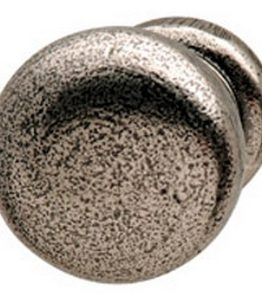 Hafele Cabinet Hardware, Americana Cabinet Knob, zinc, oil-rubbed bronze, 30 x 23mm