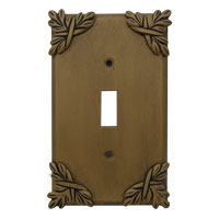 Anne at Home Sonnet Single Toggle   Switchplate