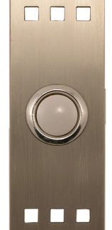 Waterwood Hardware Stainless Steel Craftsman Style Doorbell