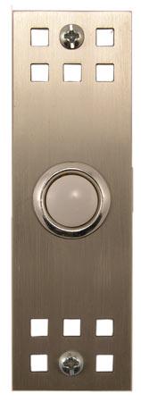 Waterwood Hardware Stainless Steel Craftsman Style Doorbell