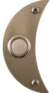 Waterwood Hardware Stainless Steel Moon Shape Doorbell
